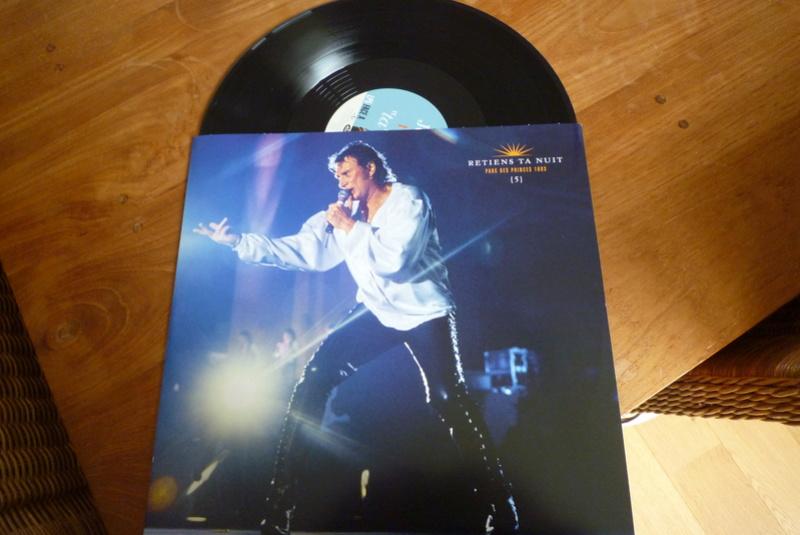 """Edition collector 5 LP """"parc des Princes 1993"""" édité par mercury P1590927"""