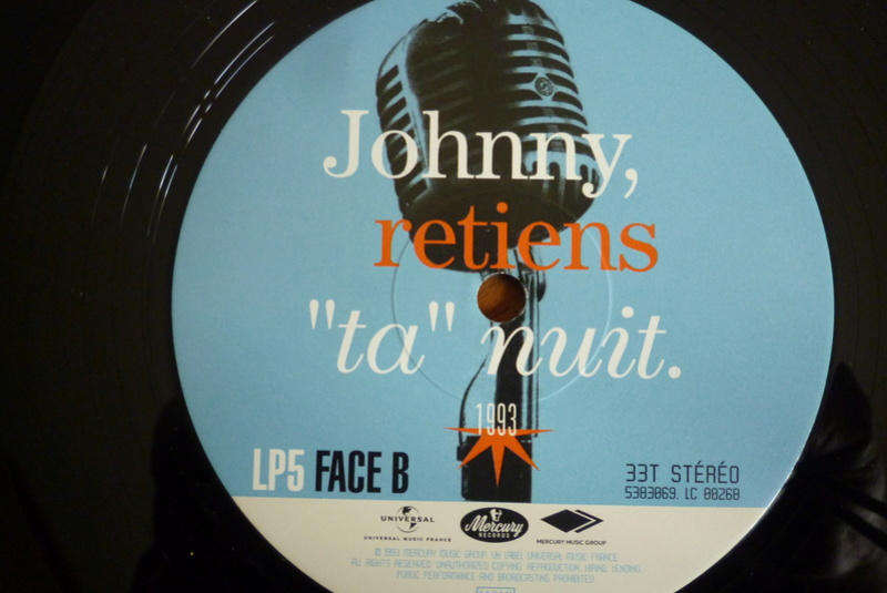 """Edition collector 5 LP """"parc des Princes 1993"""" édité par mercury P1590929"""