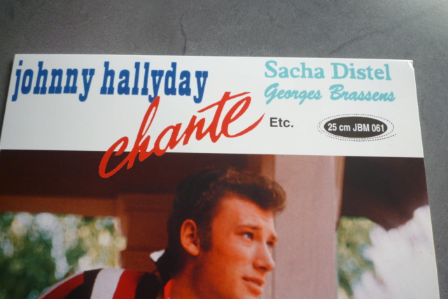 "25 cm ""Johnny chante Sacha Distel - Georges Brassens "" de chez JBM P1600011"