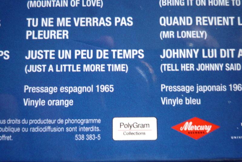 coffret n°8 des 45 tours de collection 1961-1969 édité par Polygram P1600022