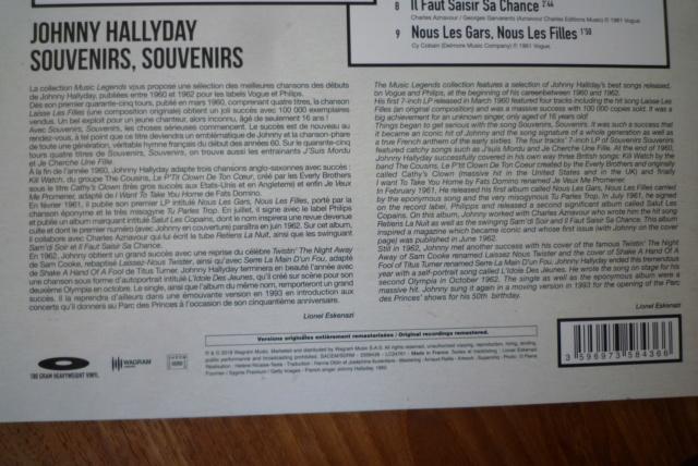 """33 tours """"souvenirs, souvenirs """" édité par Wagram music P1600085"""