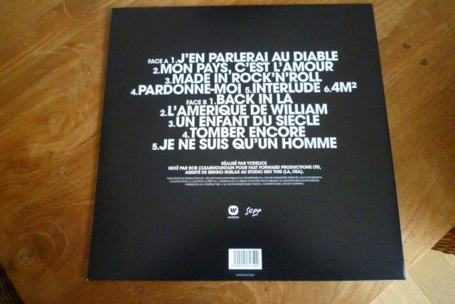 """33 tours """"MON PAYS C'EST L'AMOUR"""" édité par WARNER P1600094"""