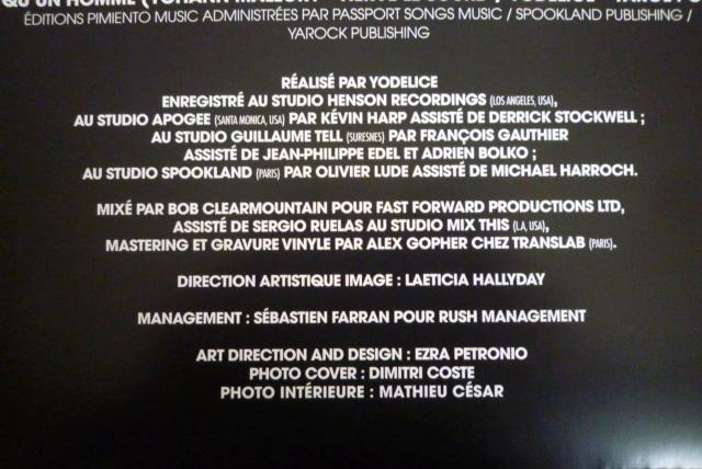 """33 tours """"MON PAYS C'EST L'AMOUR"""" édité par WARNER P1600104"""
