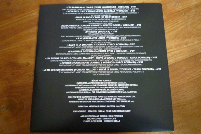 """33 tours """"MON PAYS C'EST L'AMOUR"""" édité par WARNER P1600106"""
