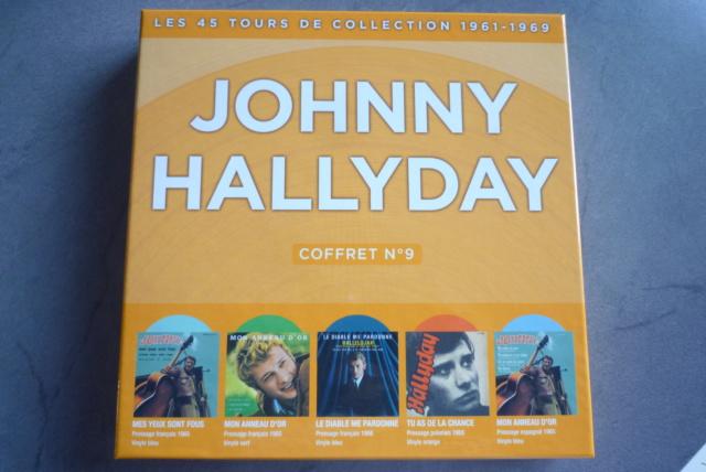 coffret n°9 des 45 tours de collection 1961-1969 édité par Polygram P1600195