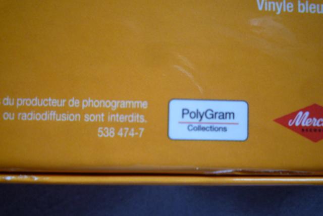 coffret n°9 des 45 tours de collection 1961-1969 édité par Polygram P1600198