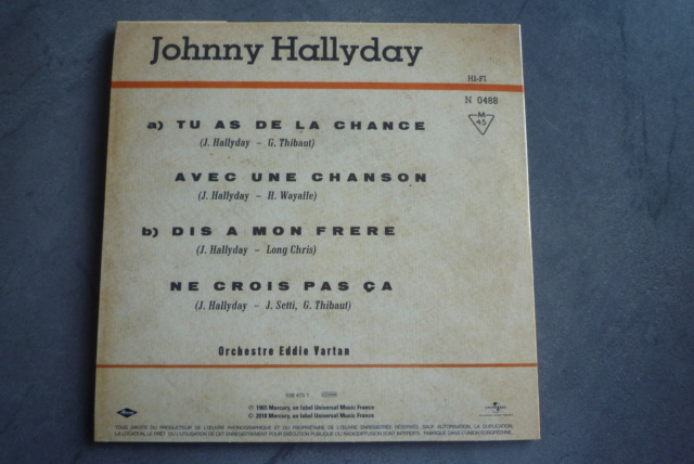 coffret n°9 des 45 tours de collection 1961-1969 édité par Polygram P1600220