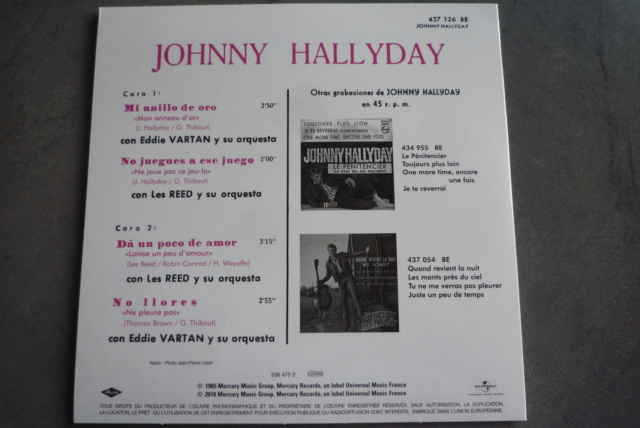coffret n°9 des 45 tours de collection 1961-1969 édité par Polygram P1600229