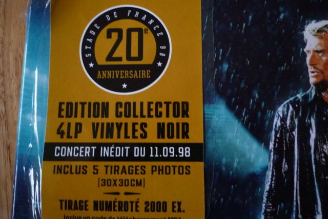 """coffret 4 LP """"stade de France 98"""" édité par UNIVERSAL P1600296"""