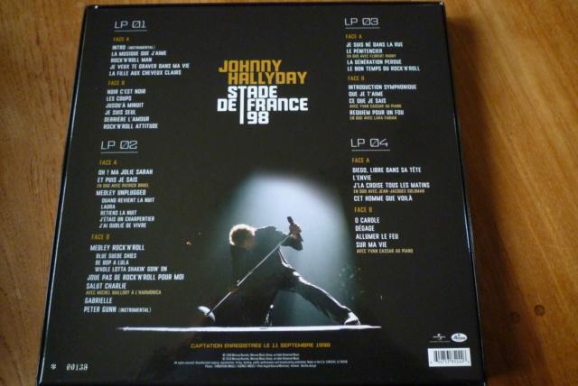 """coffret 4 LP """"stade de France 98"""" édité par UNIVERSAL P1600297"""