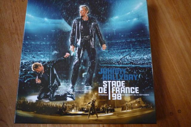 """coffret 4 LP couleur """"stade de France 98"""" édité par UNIVERSAL P1600409"""