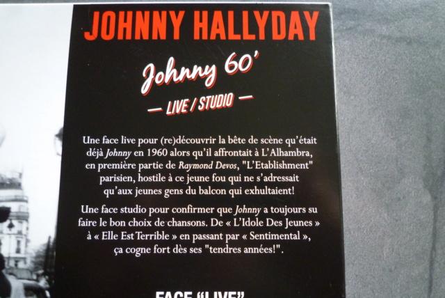 """25 cm, 33 tours et CD """"Johnny60 live/studio"""" édité par BIG BEAT RECORDS P1600732"""
