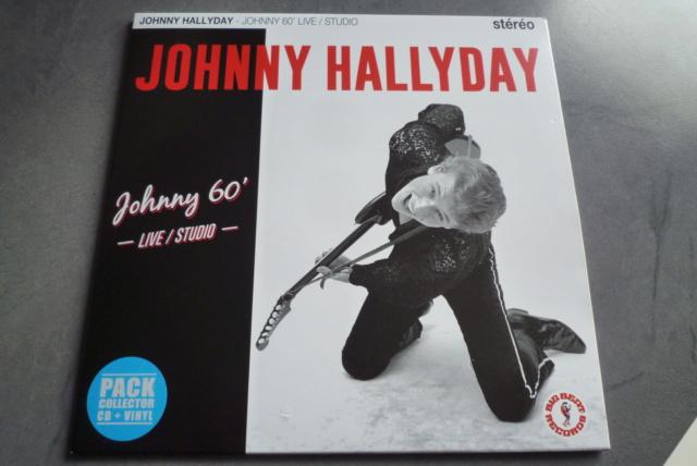 """25 cm, 33 tours et CD """"Johnny60 live/studio"""" édité par BIG BEAT RECORDS P1600733"""