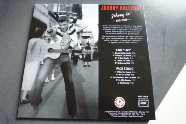 """25 cm, 33 tours et CD """"Johnny60 live/studio"""" édité par BIG BEAT RECORDS P1600734"""