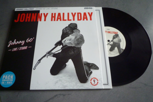 """25 cm, 33 tours et CD """"Johnny60 live/studio"""" édité par BIG BEAT RECORDS P1600735"""