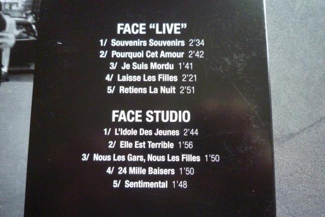 """25 cm, 33 tours et CD """"Johnny60 live/studio"""" édité par BIG BEAT RECORDS P1600736"""