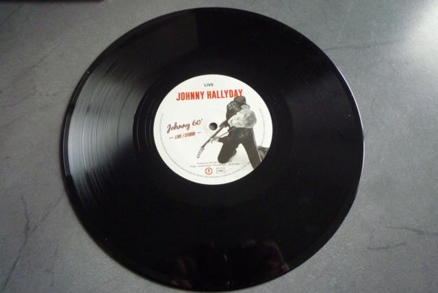 """25 cm, 33 tours et CD """"Johnny60 live/studio"""" édité par BIG BEAT RECORDS P1600738"""