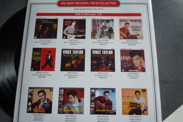 """25 cm, 33 tours et CD """"Johnny60 live/studio"""" édité par BIG BEAT RECORDS P1600739"""