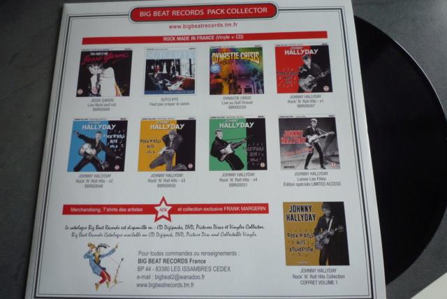"""25 cm, 33 tours et CD """"Johnny60 live/studio"""" édité par BIG BEAT RECORDS P1600740"""