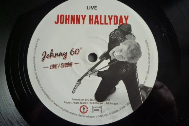 """25 cm, 33 tours et CD """"Johnny60 live/studio"""" édité par BIG BEAT RECORDS P1600741"""