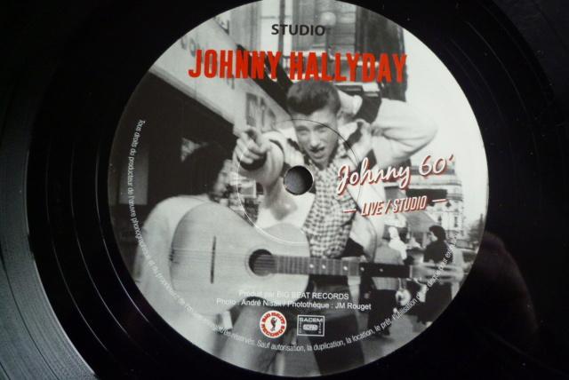 """25 cm, 33 tours et CD """"Johnny60 live/studio"""" édité par BIG BEAT RECORDS P1600742"""