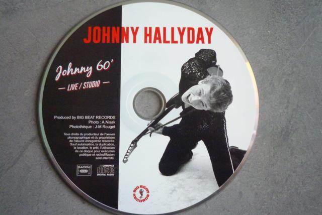 """25 cm, 33 tours et CD """"Johnny60 live/studio"""" édité par BIG BEAT RECORDS P1600743"""