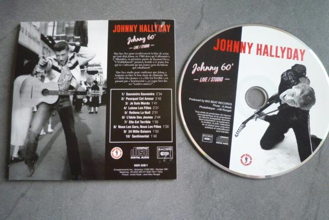 """25 cm, 33 tours et CD """"Johnny60 live/studio"""" édité par BIG BEAT RECORDS P1600744"""
