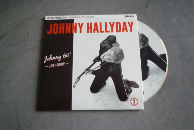 """25 cm, 33 tours et CD """"Johnny60 live/studio"""" édité par BIG BEAT RECORDS P1600745"""