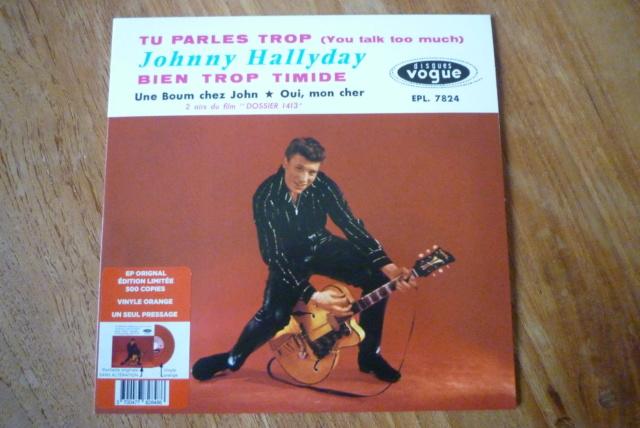 """45 tours """"tu parles trop"""" édité par Culture Factory P1600760"""