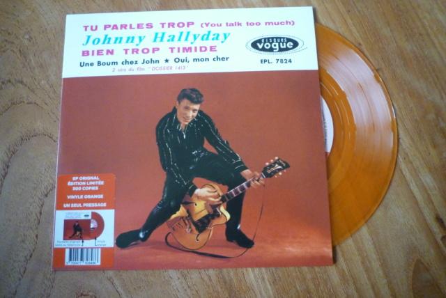 """45 tours """"tu parles trop"""" édité par Culture Factory P1600763"""