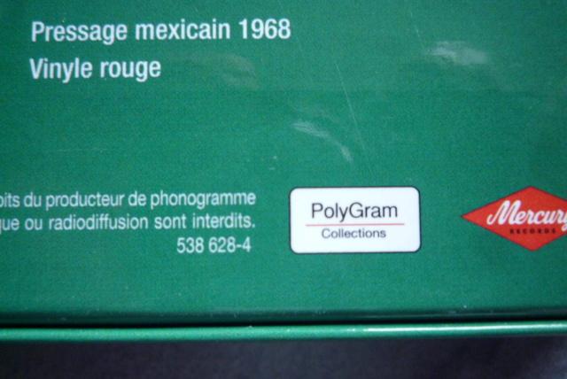 coffret N° 13 des 45 tours de collection 1961-1969 édité par Polygram P1600800