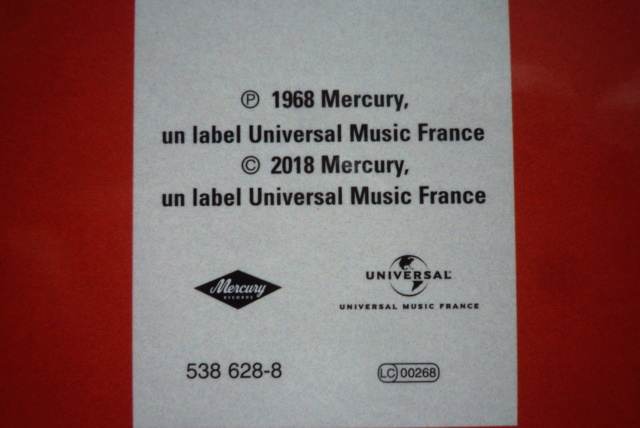 coffret N° 13 des 45 tours de collection 1961-1969 édité par Polygram P1600825