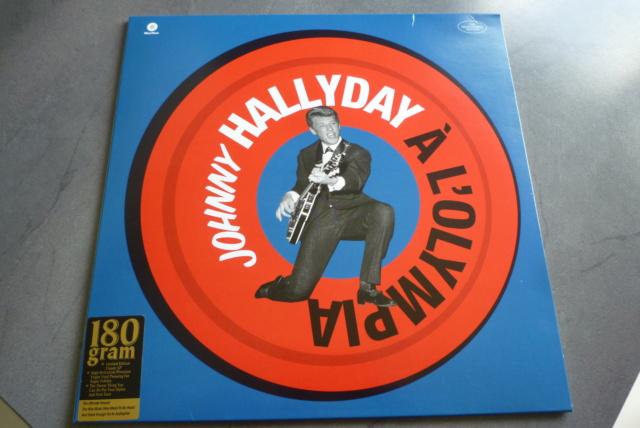 """33 tours """"Johnny Hallyday à l'Olympia"""" édité par WAXTIME P1600856"""