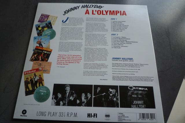 """33 tours """"Johnny Hallyday à l'Olympia"""" édité par WAXTIME P1600857"""