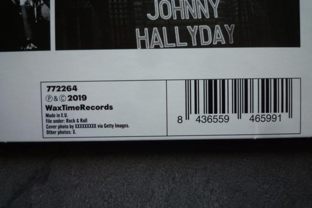 """33 tours """"Johnny Hallyday à l'Olympia"""" édité par WAXTIME P1600859"""