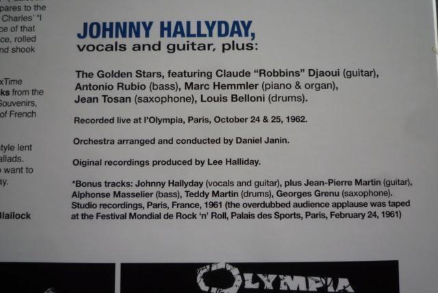 """33 tours """"Johnny Hallyday à l'Olympia"""" édité par WAXTIME P1600860"""