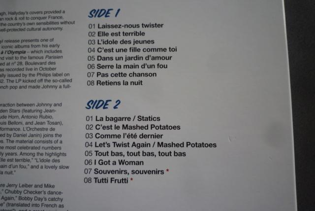"""33 tours """"Johnny Hallyday à l'Olympia"""" édité par WAXTIME P1600861"""
