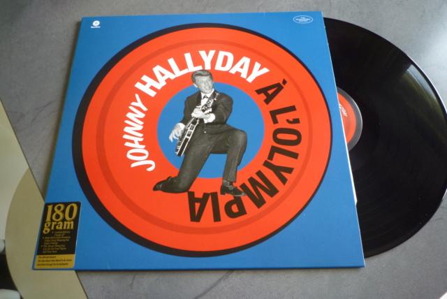 """33 tours """"Johnny Hallyday à l'Olympia"""" édité par WAXTIME P1600862"""