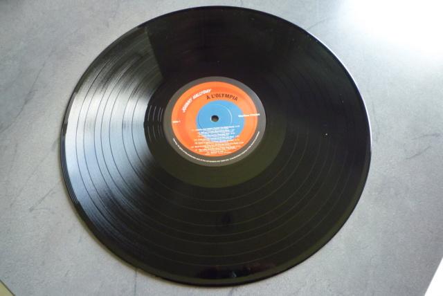 """33 tours """"Johnny Hallyday à l'Olympia"""" édité par WAXTIME P1600863"""