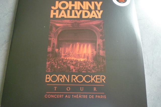 """double 33 tours """"born  rocker tour concert au théâtre de paris"""" édité par WARNER P1610031"""