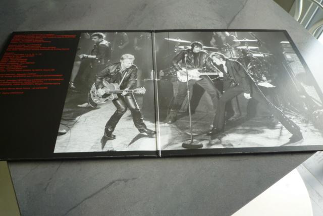 """double 33 tours """"born  rocker tour concert au théâtre de paris"""" édité par WARNER P1610034"""