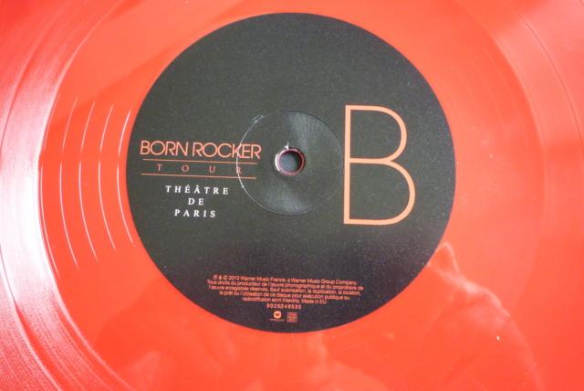 """double 33 tours """"born  rocker tour concert au théâtre de paris"""" édité par WARNER P1610035"""