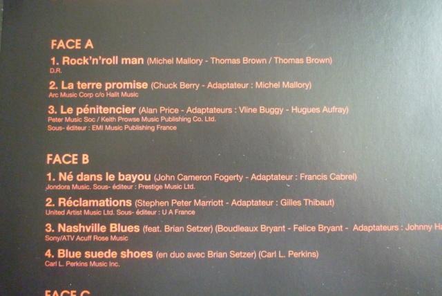 """double 33 tours """"born  rocker tour concert au théâtre de paris"""" édité par WARNER P1610079"""