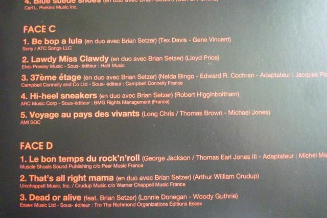 """double 33 tours """"born  rocker tour concert au théâtre de paris"""" édité par WARNER P1610080"""