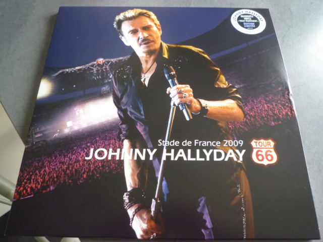 """quadruple vinyle """"stade de france 2009-tour 66"""" édité par WARNER P1610104"""