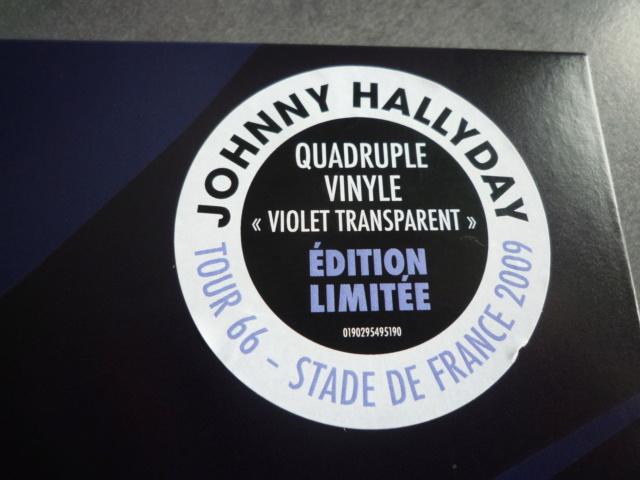 """quadruple vinyle """"stade de france 2009-tour 66"""" édité par WARNER P1610105"""