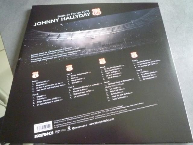 """quadruple vinyle """"stade de france 2009-tour 66"""" édité par WARNER P1610106"""