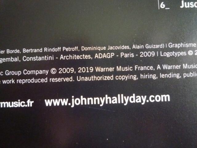 """quadruple vinyle """"stade de france 2009-tour 66"""" édité par WARNER P1610108"""