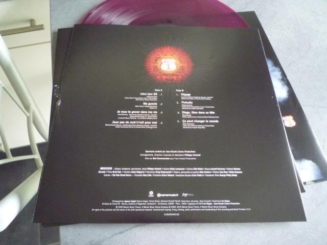 """quadruple vinyle """"stade de france 2009-tour 66"""" édité par WARNER P1610110"""
