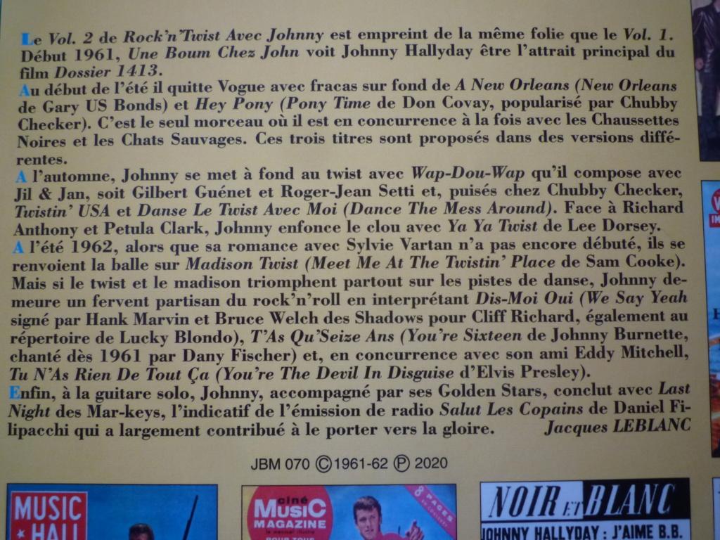 """25cm-33 tours """"rock and twist, volume 2"""" édité par JBM P1610115"""